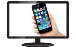 Как подключить Айфон к телевизору? Все способы
